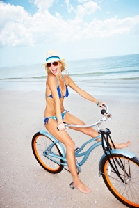 Beach biker